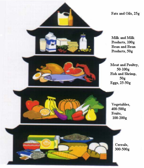 Chinese Food Pyramid