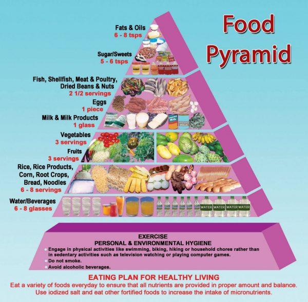 Food Groups Pyramid