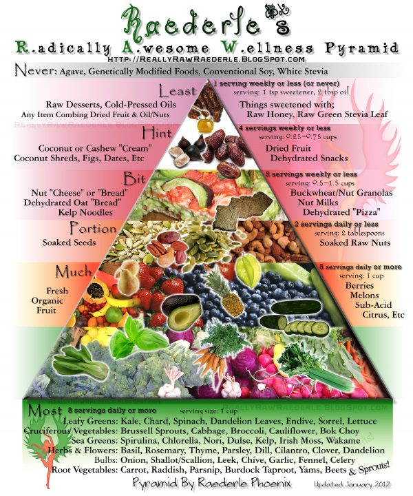 Food Pyramid 2012