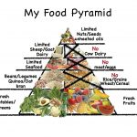 Lunch Food Pyramid